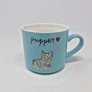 Stoneware Pupper Mug Blue - Opalhouse - Coffee Mug